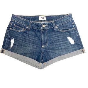 PAIGE Shorts - PAIGE Jimmy Jimmy Denim Shorts